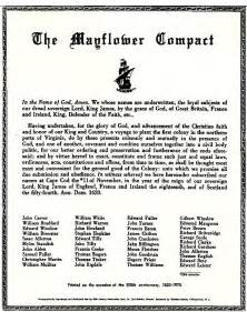 Mayflower Compact Essay by The Entire Mayflower Compact In Original Unedited Form Quotes Pilgrilms