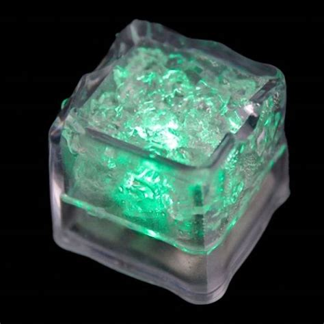 Light Up Cubes Led Water Sensor Blinking P Limited 12pcs submersible led cubes flash wedding decor green ebay