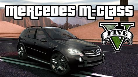 gta v vehicles mercedes m class serrano