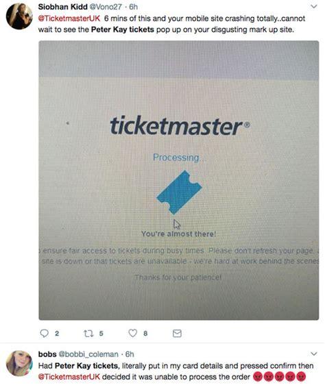 ticketmaster fan to fan resale tour tickets sell out fan fury at scum