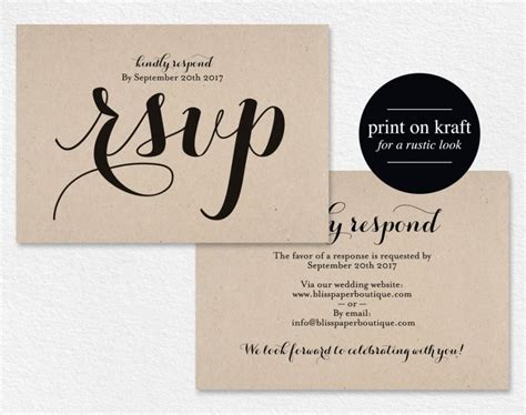 Rsvp Wedding Invite Template by Rsvp Postcard Rsvp Template Wedding Rsvp Cards Wedding