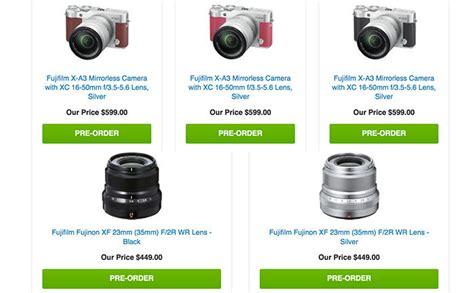 Fujifilm X A3 Kit 16 50mm F3 5 5 6 Ois Ii Brown Fuj Berkualitas new fuji x a3 and the 23mm xf announced mirrorlessrumors