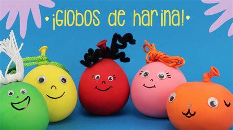 como decorar globos rellenos de harina 191 c 243 mo hacer unos globos sensoriales youtube