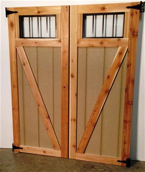 Shed Doors N More by Z Doors With Transom Windows