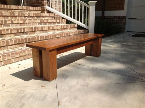 custom made bench custom made pine bench by oscar woodworks custommade com
