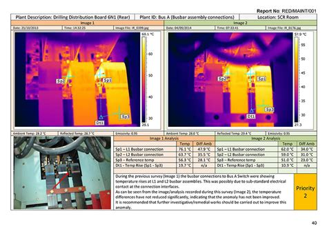 thermal imaging report template offshore thermography electrical thermal imaging survey
