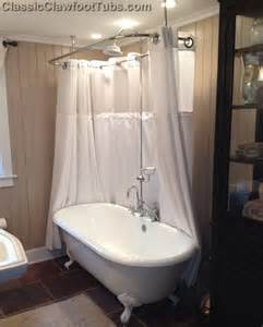 67 quot cast iron ended clawfoot tub classic clawfoot tub