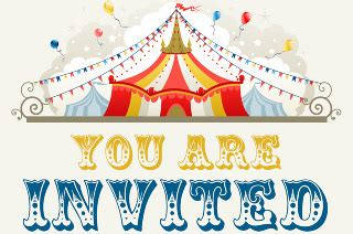 circus layout definition circus theme party invitations oxsvitation com