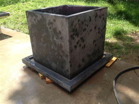 Gfrc Planters by Glass Fiber Reinforced Concrete Concrete Creations Nwa