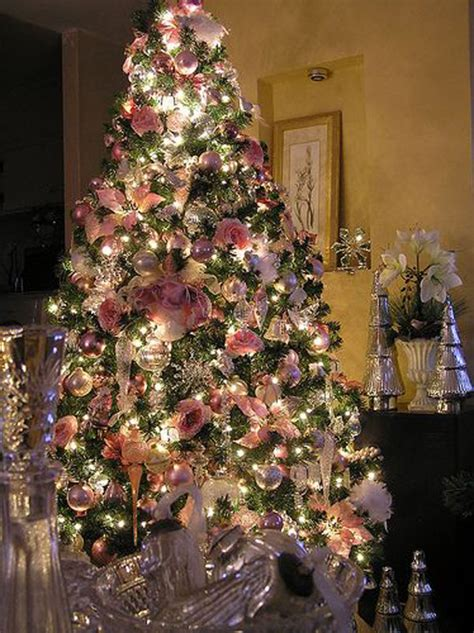 victorian christmas tree blue lights 20 awesome pink tree ideas home design and interior