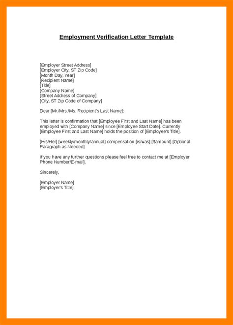 Employment Confirmation Letter From Employer Sle sle of proof of employment intake worker sle resume