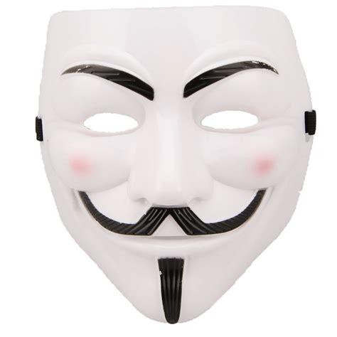 Topeng Pdt Led Mask 7in1 v for vendetta mask don t protest without it