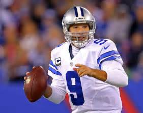 tony romo romo leads late rally as cowboys beat beckham giants