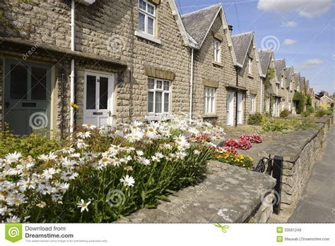 Cottages In Thirsk by Cottage Thirsk Royalty Free Stock Images Image