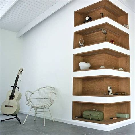 Wall Shelf Corner by Best 25 Cool Shelves Ideas On Shelves Wooden