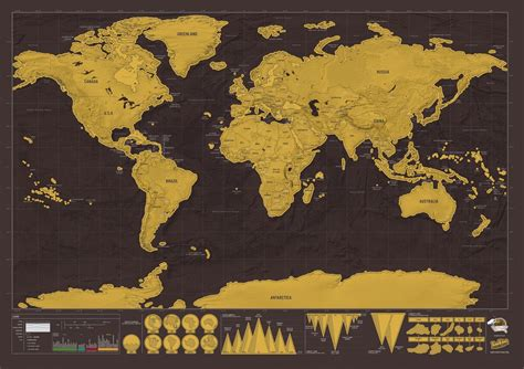 map world scratch world scratch map deluxe edition stanfords