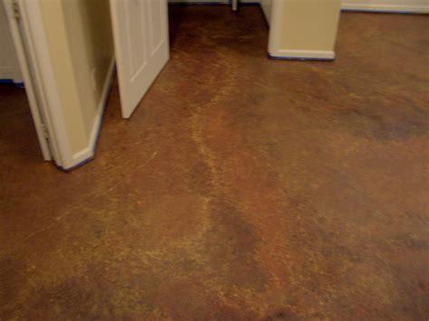 Floors: Painting Basement Floor Brown Stone Pattern Floor
