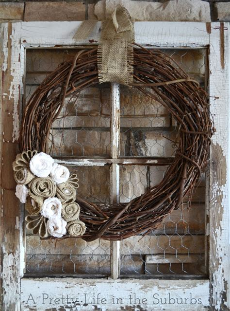 decorating ideas for wire wreaths frames 30 diy craft projects using vintage windows diy projects