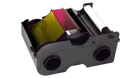 Fargo Color Ribbon Ymcko Cartridges 250 Images Prints Pn 45000 fargo 45100 color ribbon ymcko 250 prints dtc4000