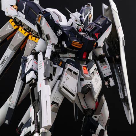 Nu Gundam Ver Ka custom build mg 1 100 hi nu gundam ver ka infinite