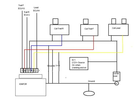 coil and distributor wiring diagram 28 images
