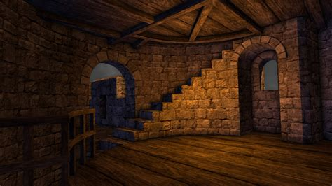 tower interior architecture packs castle builder