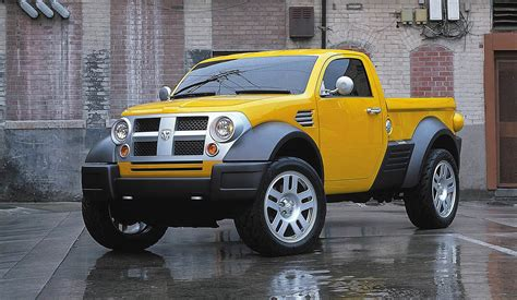 dodge  mini pickup concept