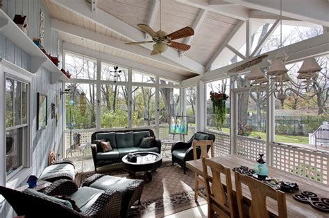sun room screen room ideas traditional porch other metro by toned homes southwest a c screened porch traditional sunroom chicago by