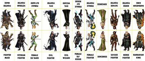 printable paper miniatures d d fantasy characters 102 wargames pinterest fantasy