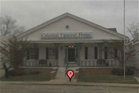 colonial funeral home columbia mississippi ms