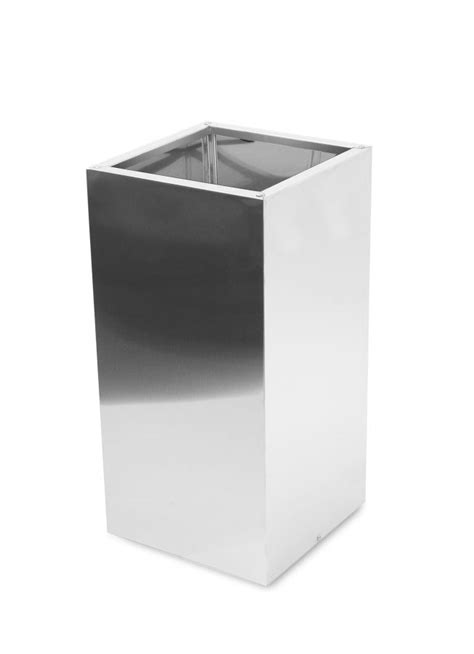 stainless steel planters square brushed stainless steel planter 35cm x 110cm 163 199 99