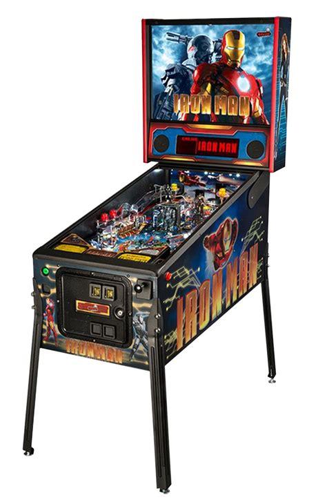 iron pinball machine liberty