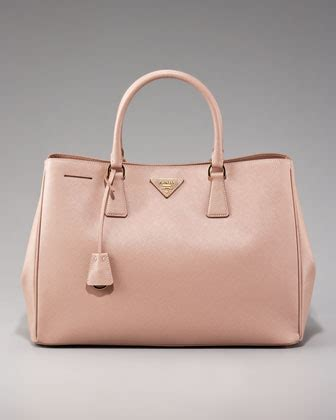 light pink tote bag prada saffiano bag reference guide spotted fashion