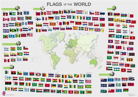 flags of the world poster flags of the world poster acrylic