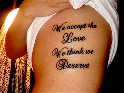 love quotes tattoos 100 best quotes