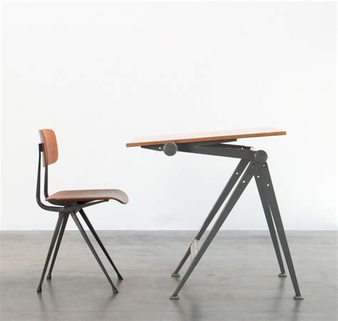 Drafting Table And Chair Wim Rietveld Reply Drafting Table And Friso Kramer Result Chair