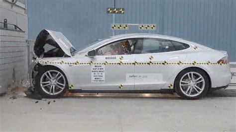 Tesla Crash Test Tesla Model S Gets Consumer Reports Recommendation Oct