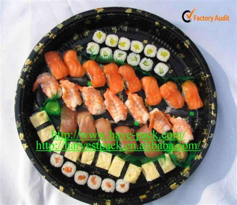 Tray Sushi Import Hp 01 12 inch disposable plastic container tray sushi tray buy plasitc sushi container
