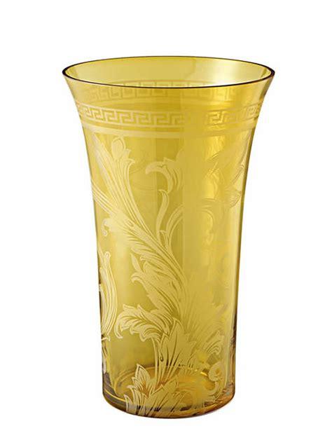 vaso versace vaso in cristallo cm 26 rosenthal versace di cristofalo