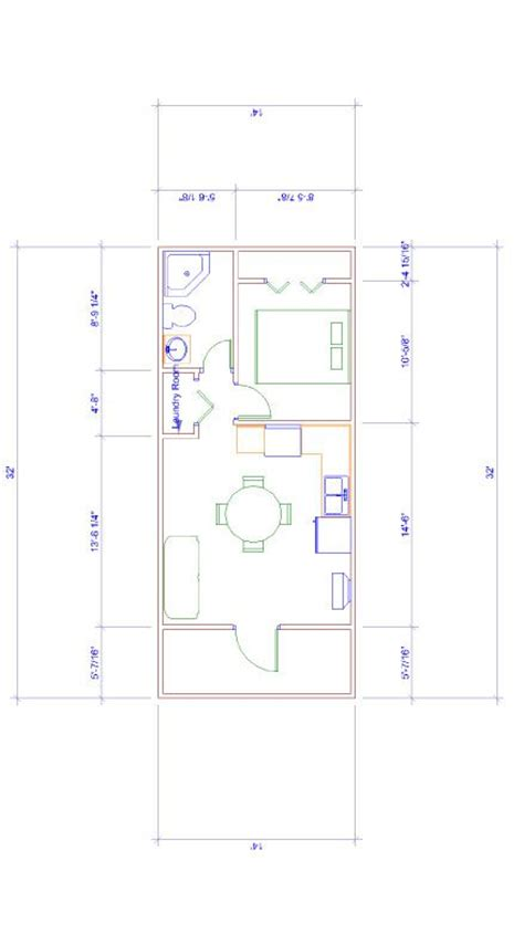 14x32 Cabin Plans by 14x32 Floor Plan For Turning Large Shed Into A C Or