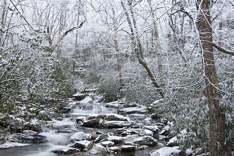 Celebrate Winter Magic In The Great Smoky Mountains In A Charming Rustic Cabin In Gatlinburg Tennessee Fashiontribes Travel by Great Smoky Mountains National Park Winter S Magic By
