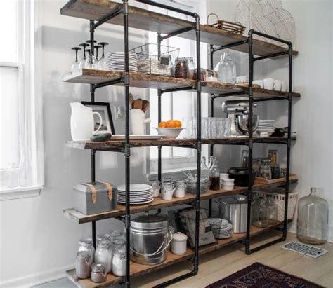 benefit    standing kitchen shelves
