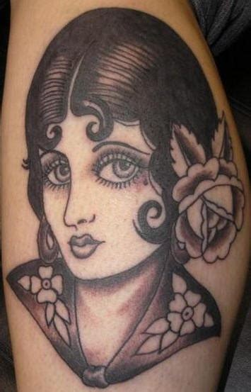 old school pinup tattoo great traditional tattoos pictures tattooimages biz