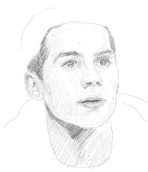 2 Minute Sketches by 2 Minute Sketch Stiles Stilinski By Jarpadalecki On