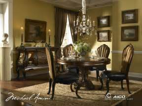 dining room set buy palace gate round dining room set by aico from www