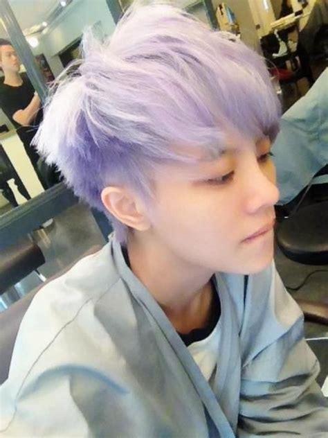 korean pastel boy google search boys colored hair