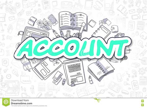 doodle account sign in sign up for doodle account doodle sports icon vector