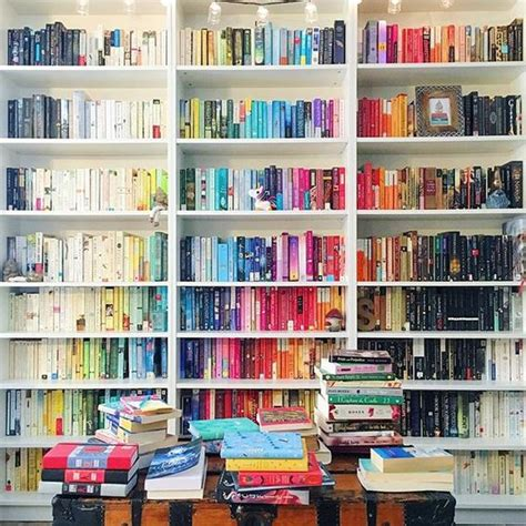 Books And Bookshelves 23 Gorgeously Organized Bookshelves To Inspire Your New
