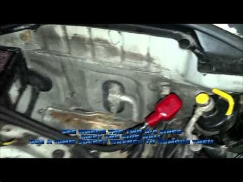 automobile air conditioning service 1996 honda civic parking system honda civic ac delete youtube