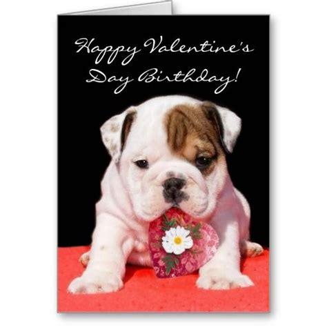 valentines day bulldog happy s day birthday bulldog puppy card